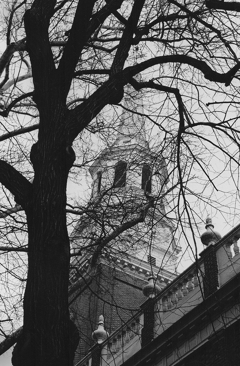 church tower Philadelphia