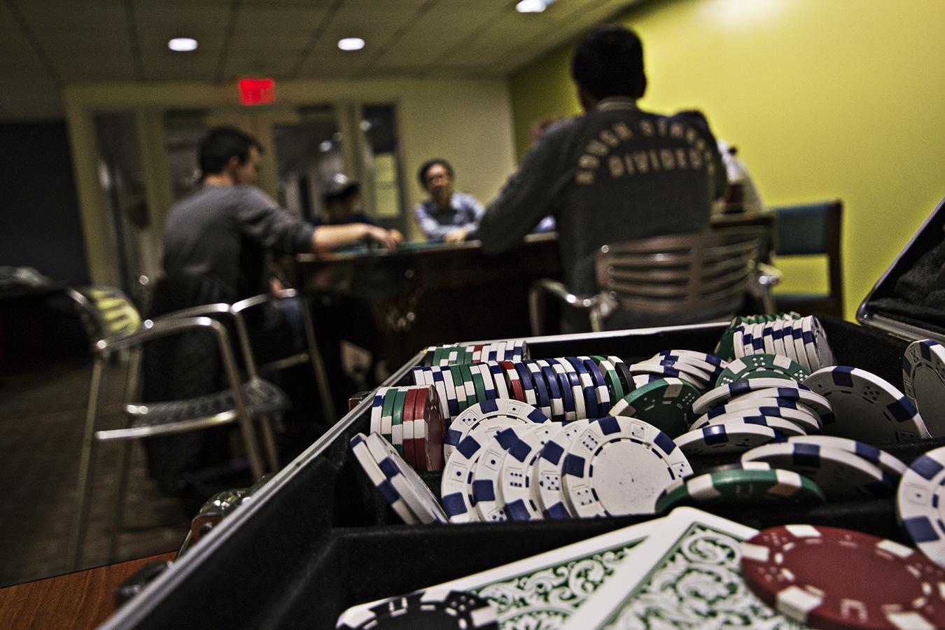 gambling at UPenn