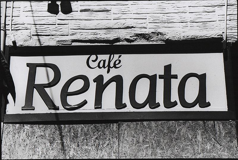 Cafe Renata, Elizabeth Ames, Photography, Popular Culture, UPenn, Tony Ward Studio, fires, West Philadelphia