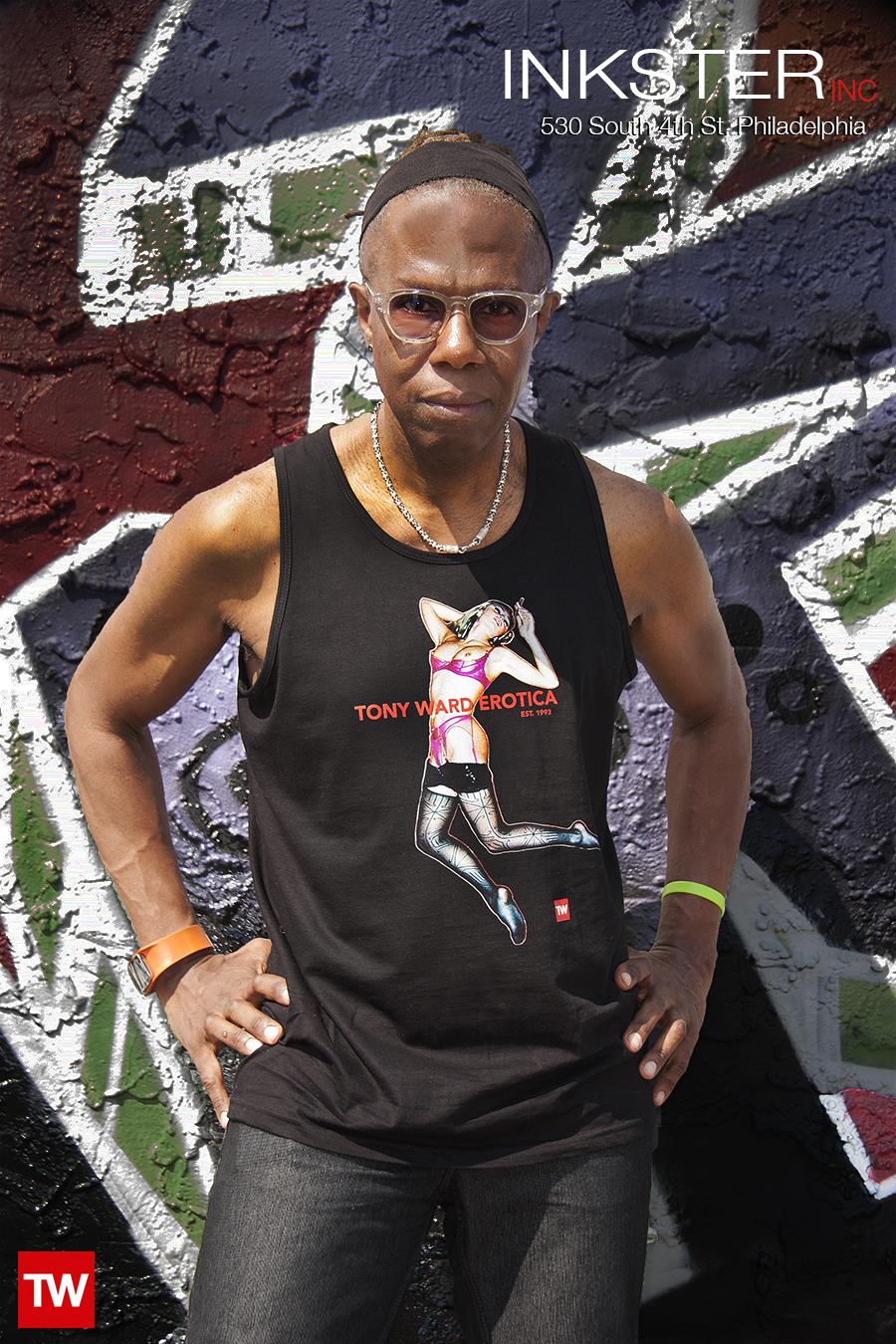 Tony_Ward_T_Shirts_erotica_Artist_Mikel_Elam_Model
