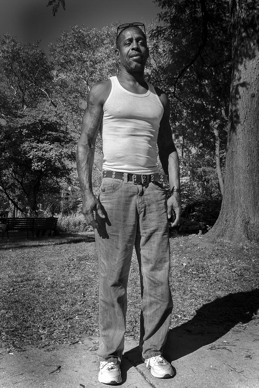 Jingwen_Felix_Qiang_Photography_Food_Truck_Man_Heroic_White_Shirt_West_Philly_Street_Baltimore