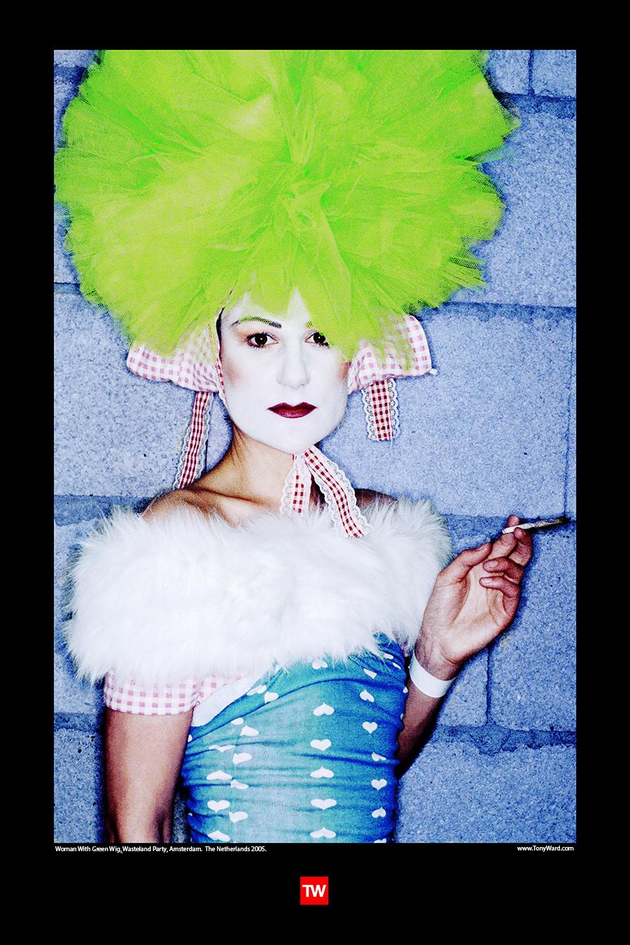 Tony_Ward_photography_Wasteland_party_amsterdam_documentary_the_netherlands_fetish_fashion_wigs_makeup_marajuana_poster
