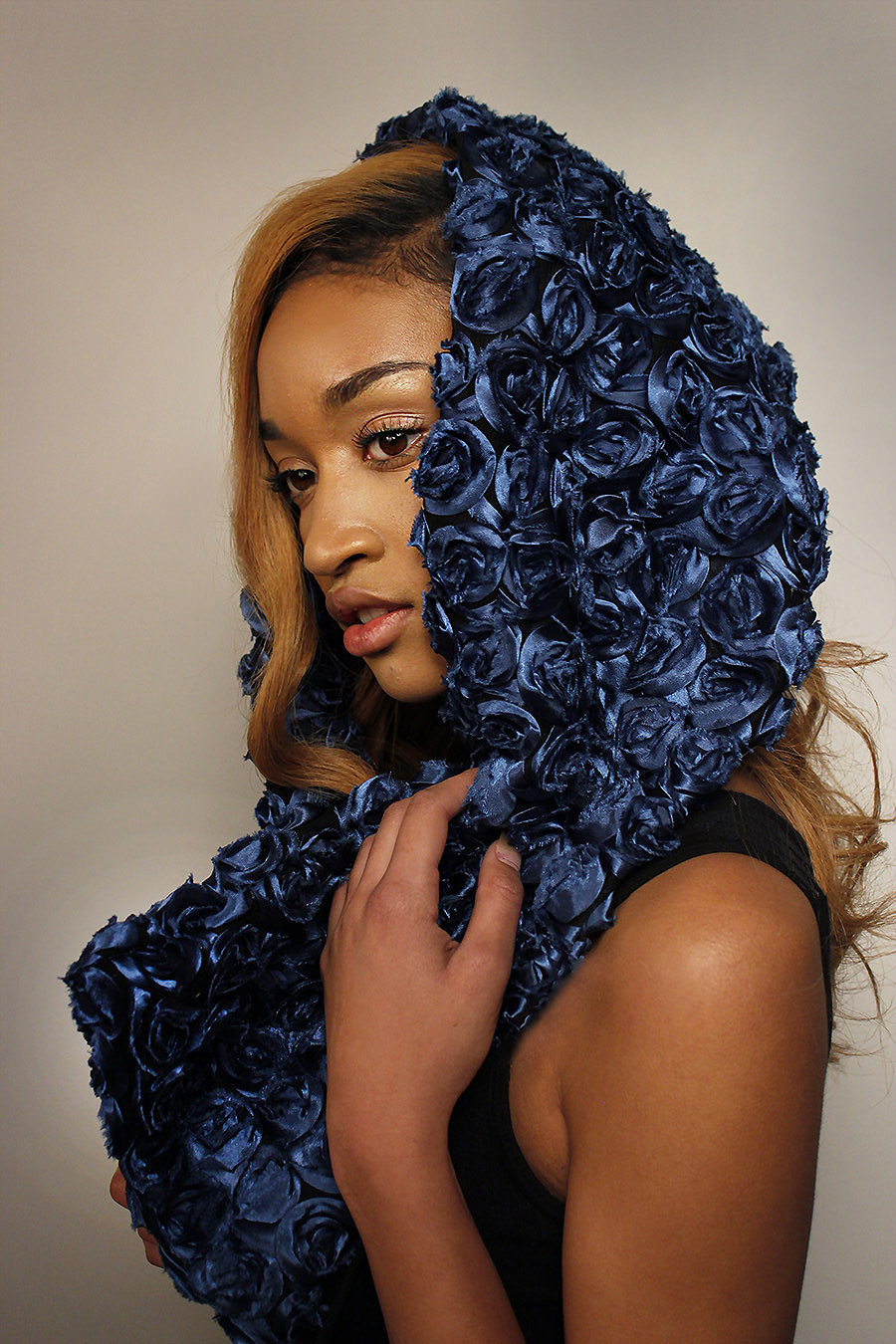 Chi Aguwa_K Vaughn Scarves_ model_ Scarves_relationship_couple_red_pattern_Lab Session_Fashion and Photography_4