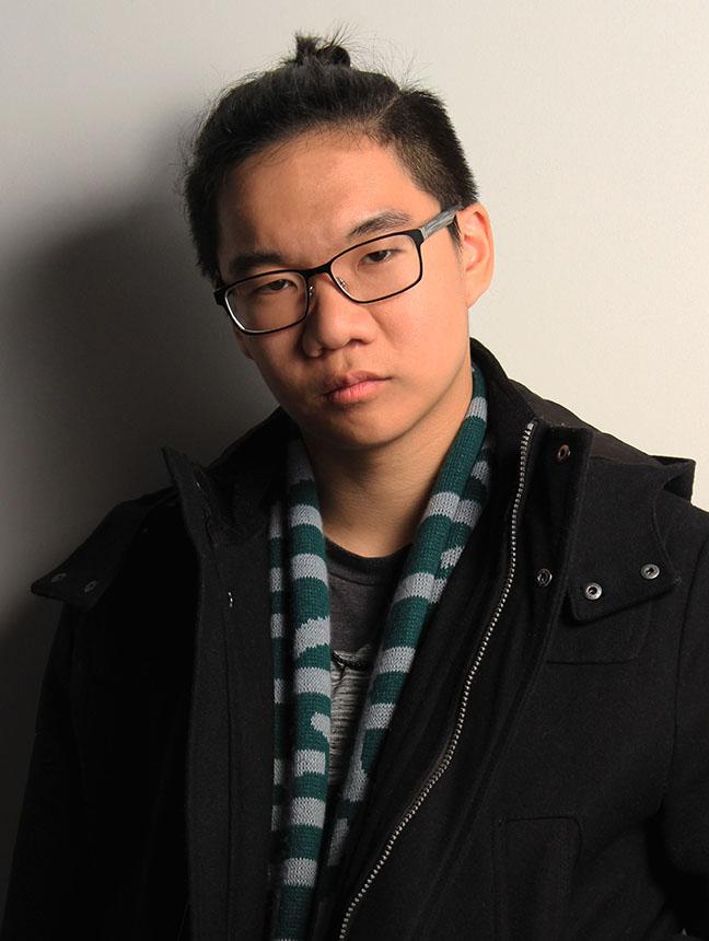 Portrait of Grant Wei by Anisha Arora