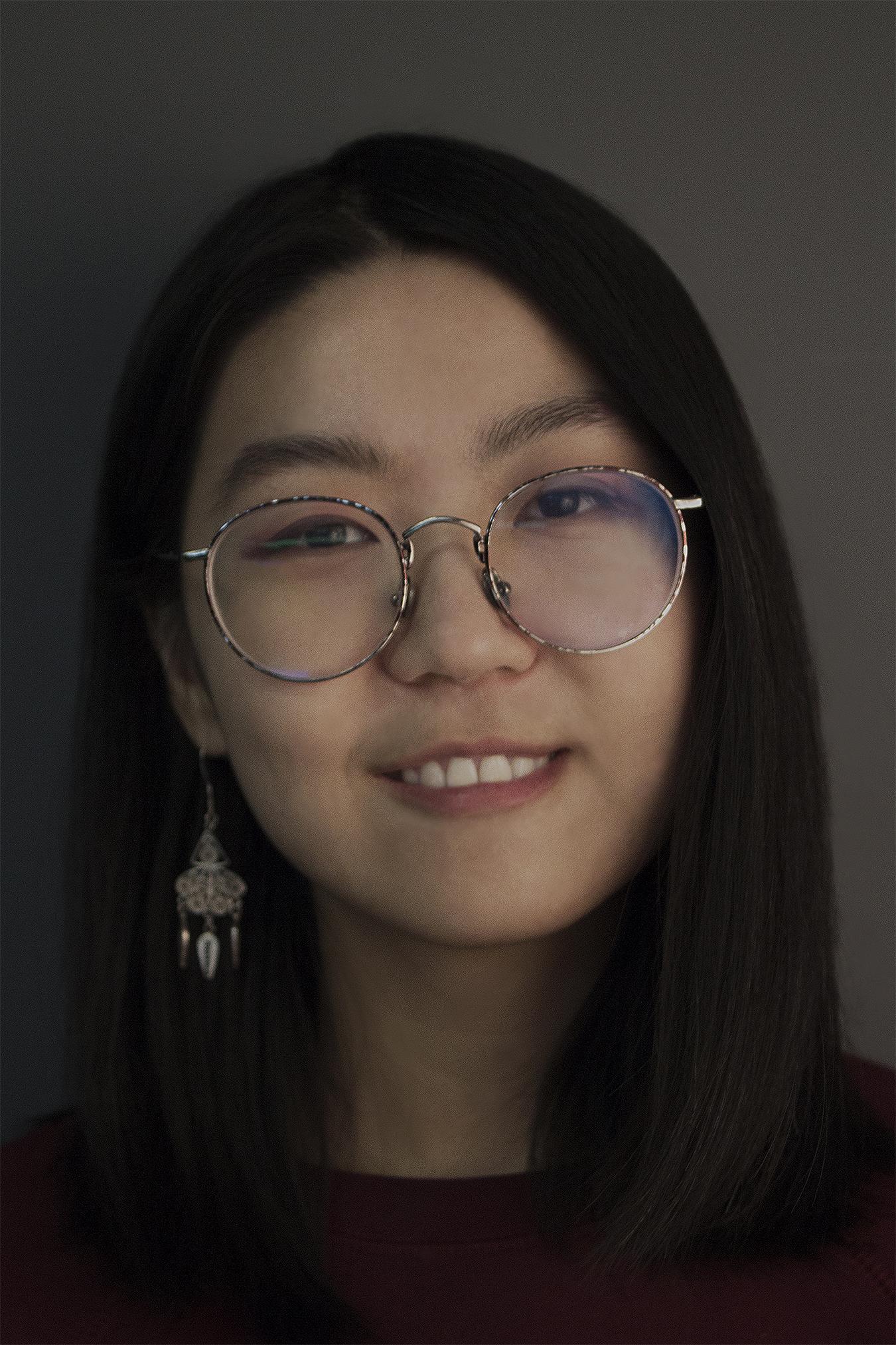 Portrait of Wenjia Guo by Mu Qiao, Copyright 2018