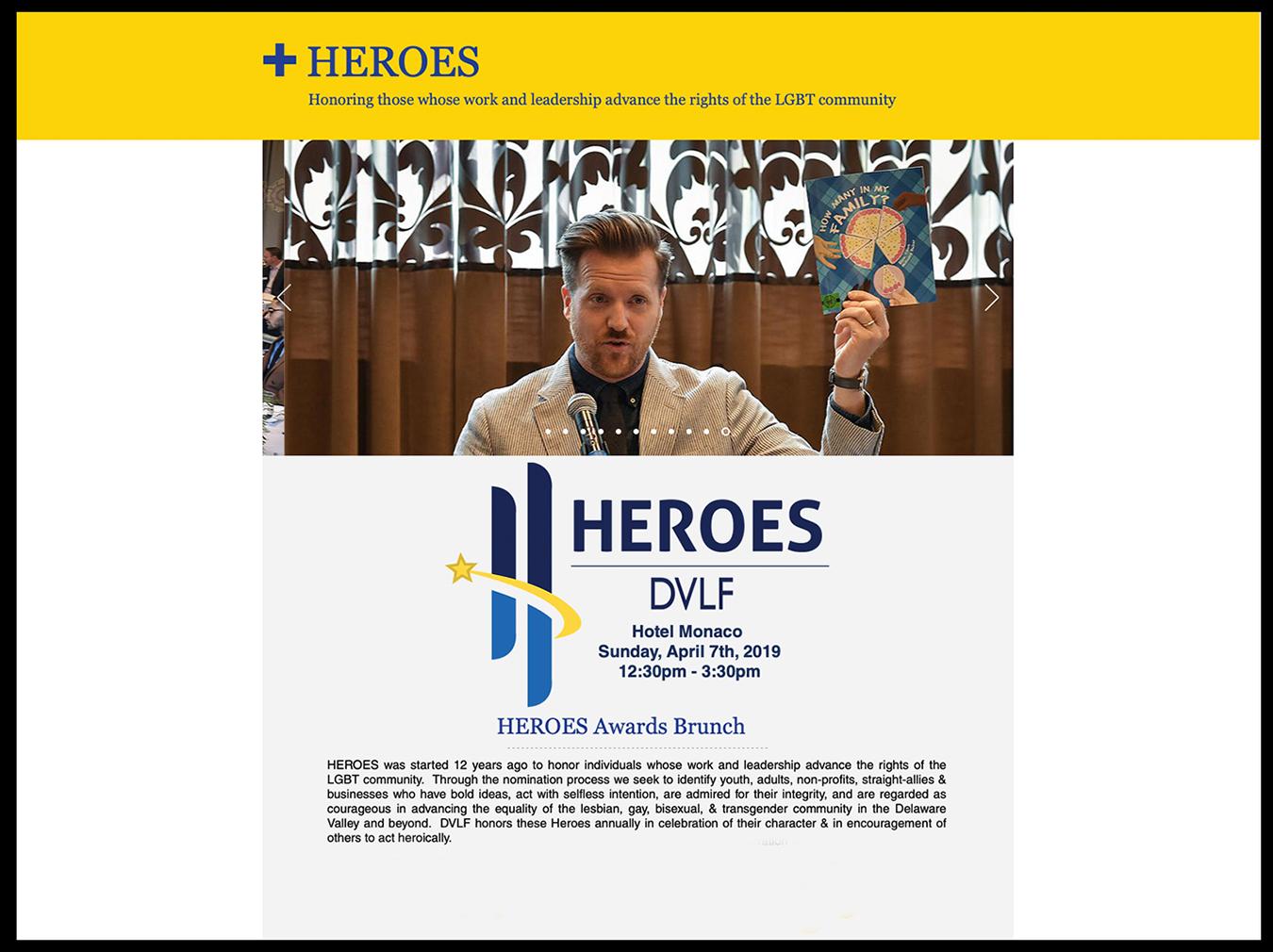 Heroes Awards Brunch: Hotel Monaco, April 7, 2019