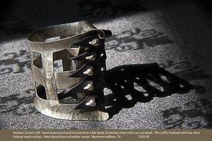 J_Rudy_Lewis_Jeweler_fetish_sterling_silver_bondage_jewelry_Tony_Ward_Studio_art_affiliates_galleries_Polarire's_Corset_cuff.jpg