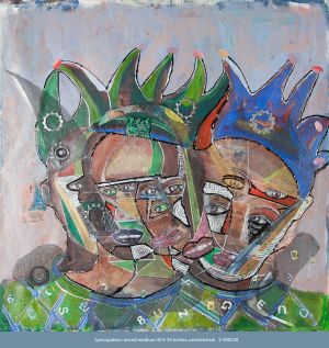 Mikel_Elam_painting_mixed_media_canvas_cubism_surrealism_fine_arti_modern_primatives_painters_Philadelphia_artists_SYNCOPATION-1.jpg